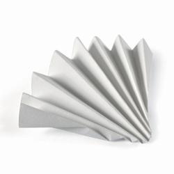 Papel de filtro cualitativo, Grado 593 ½, filtros plegados