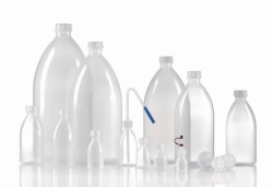 Narrow-mouth bottles, series 301, LDPE