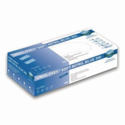 WegwerphandschoenenSoft Nitril Blue 300