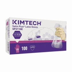 Gants à usage unique Kimtech™ Satin Plus, latex