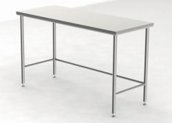 Tables pour salle blanche avec plateau de travail non perforé