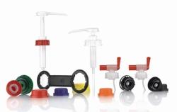 Bouchons et accessoires pour bidon à produits chimiques, HDPE