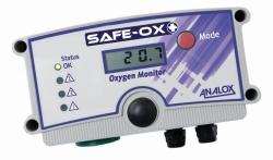 Monitor de seguridad de enriquecimiento y depleción de oxígeno, Safe-Ox+™