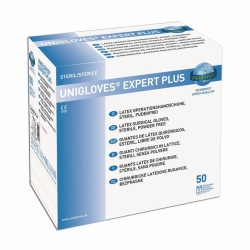 Disposable Gloves OP, EXPERT PLUS, Latex, sterile