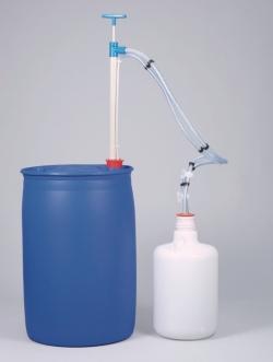 Gas-tight barrel pump, PP