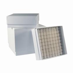 LLG-Cryogenic storage boxes, plastic coated, white