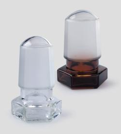 Bouchon creux avec rodage, en verre borosilicaté 3.3 WWW-Interface