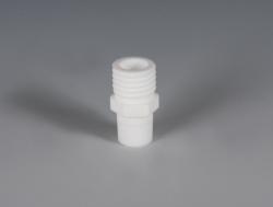 Verbindungen mit Gewindestutzen, PTFE für Reaktordeckel