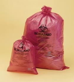 Entsorgungsbeutel, Biohazard, PP, 38µm