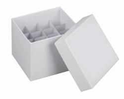 Kryoboxen, Karton, 145 x 145 und Rastereinsätze