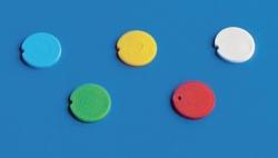 Inserti colorati per tappo, PP, per provette